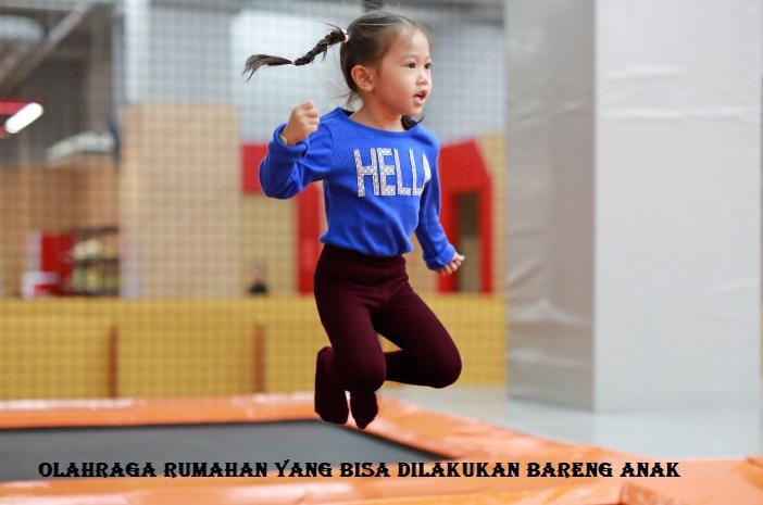 Olahraga Rumahan Yang Bisa Dilakukan Bareng Anak